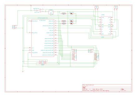 Main controller PCB schematic
